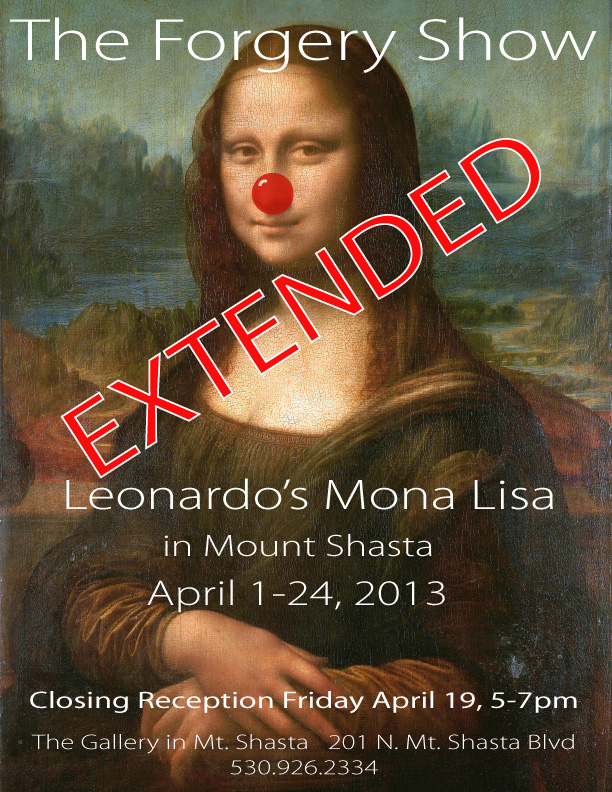 The Forgery Show - mona lisa