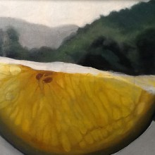diana chakos – lemon – oil painting