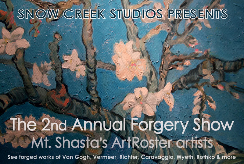 2nd annual Forgery Show opening April 1, 2014