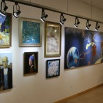 the forgery show 2014, mount shasta, ca , a gallery view North wall