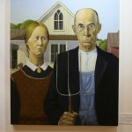 the forgery show 2014, mount shasta, ca, Grant Wood