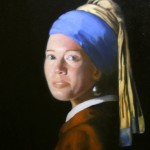 jenny purtle - vermeer's girl with pearl earring
