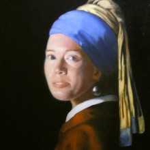 jenny purtle – vermeer's girl with pearl earring