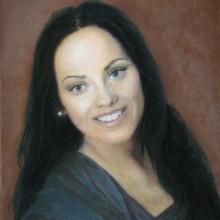 lezlie graebel, oil portrait