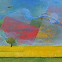 michael wecksler, untitled, oil painting on canvas