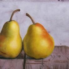 lynn chertkov, pears, oil painting