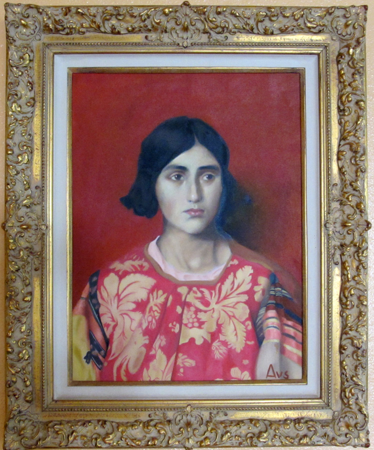 Adrianne van Summern's forgery - Thomas Cooper Gotch