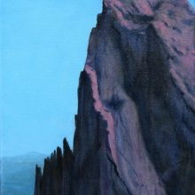 Anne McTavish, Mountain, oil painting