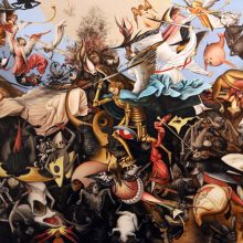 Janet Crittenden's forgery – Pieter Bruegel the Elder's The Fall of The Rebel Angels