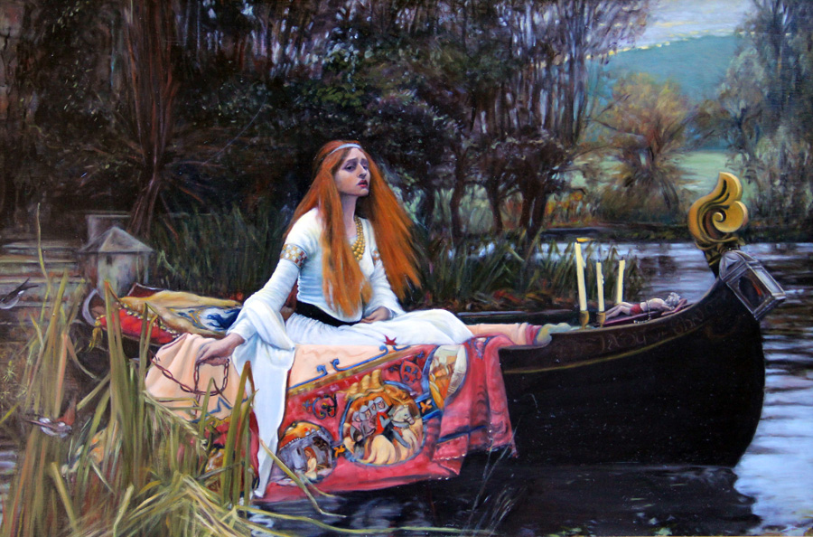 Janet Crittenden's forgery - John William Waterhouse's Lady of Shalott