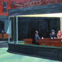 Michael Wecksler's forgery Edward Hopper's NighHawks