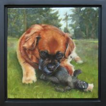 Anne McTavish, Lucy, oil painting