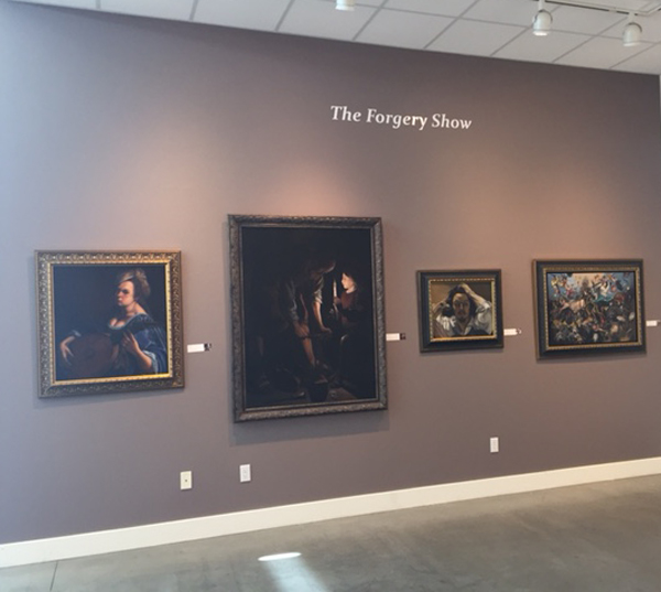 forgery show at Pence gallery in Davis