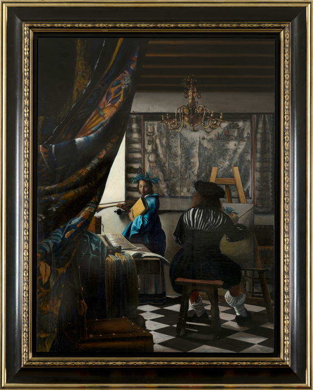 Janet Critenden's forgery Johannes Vermeer's Art of Painting