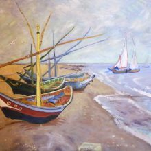 Anne McTavish's forgery – Vincent van Gogh's Fishing Boats on the Beach at Les Saintes-Maries-de-la-Mer