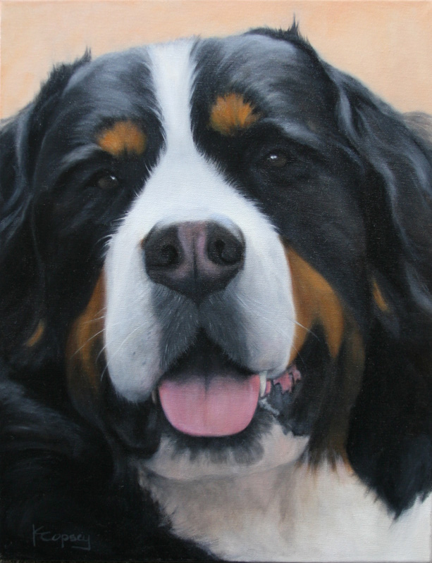 Karen Copsey - Portrait of my Riley