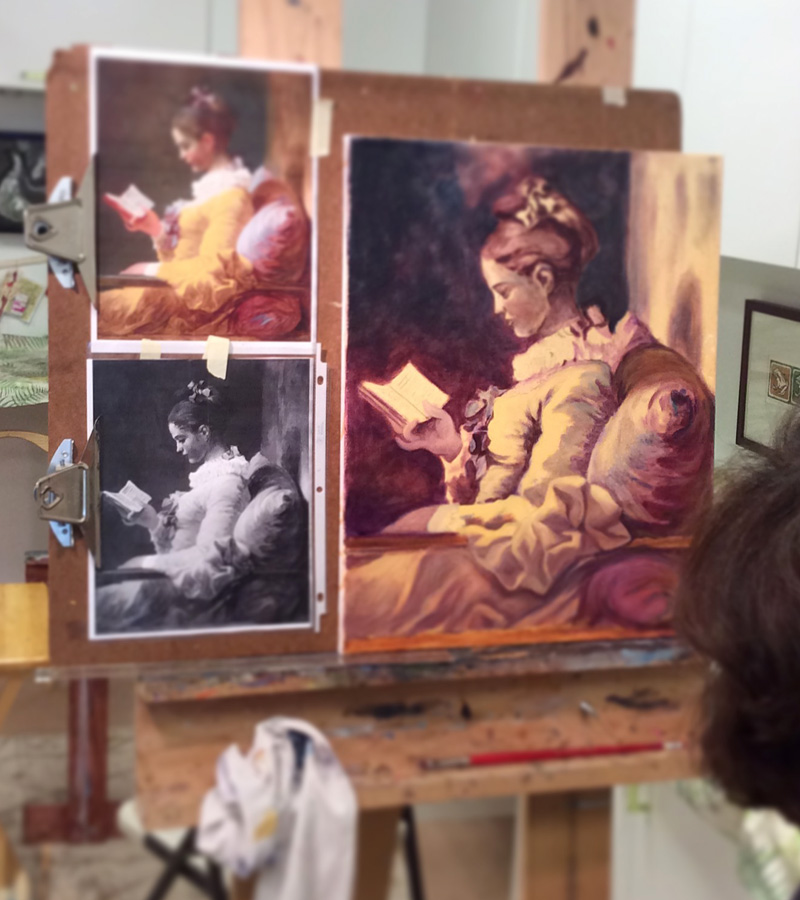 cindy corrales painting Jean-Honoré Fragonard