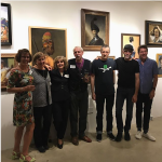The opening reception at Morris Adjmi Sept 28, 2017