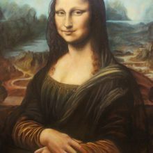 Dustin Bonivert's forgery of Mona Lisa by Leonardo da Vinci