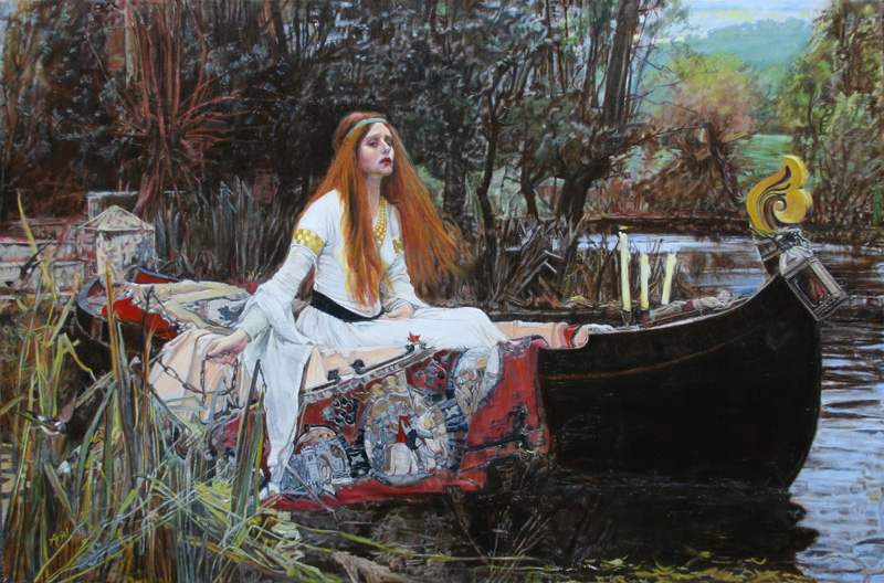 Ariel Morgan's Forgery The Lady of Shallot by Waterhouse