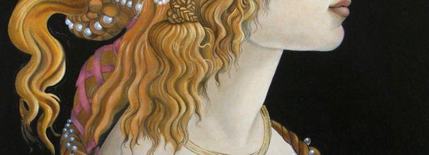 Sandro Botticelli restored by artist Karol McGuire
