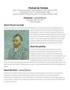 Leonard-Brown-van-Gogh